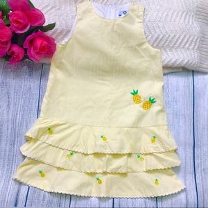 Florence Eiseman Girl's Vintage Pineapple Dress 4